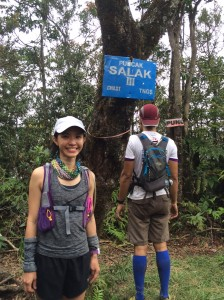 At Puncak Salak 3 - not much different from the other peaks