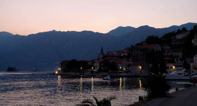 Charming quaint town of Perast