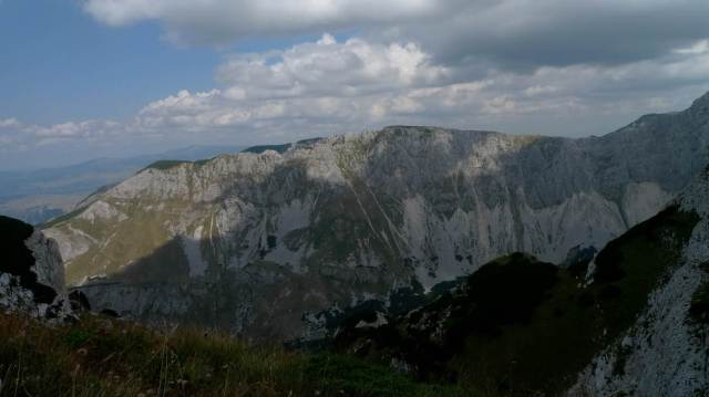 View to Bobotox Kuk, highest peak in Durmitor